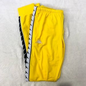 Kappa Track Yellow pants women's 222 Banda Slim